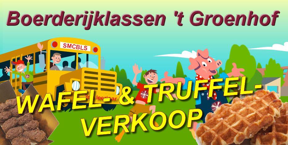 Wafel- & truffelverkoop boerderijklassen 2de lj.
