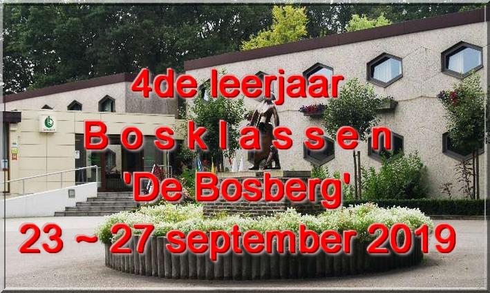 Bosklassen - 24 september