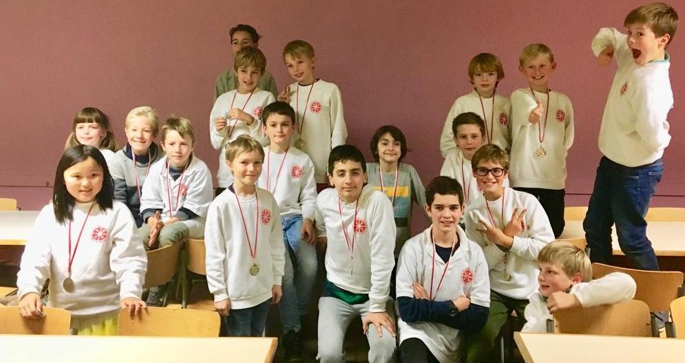Schoolschaaktornooi 2018