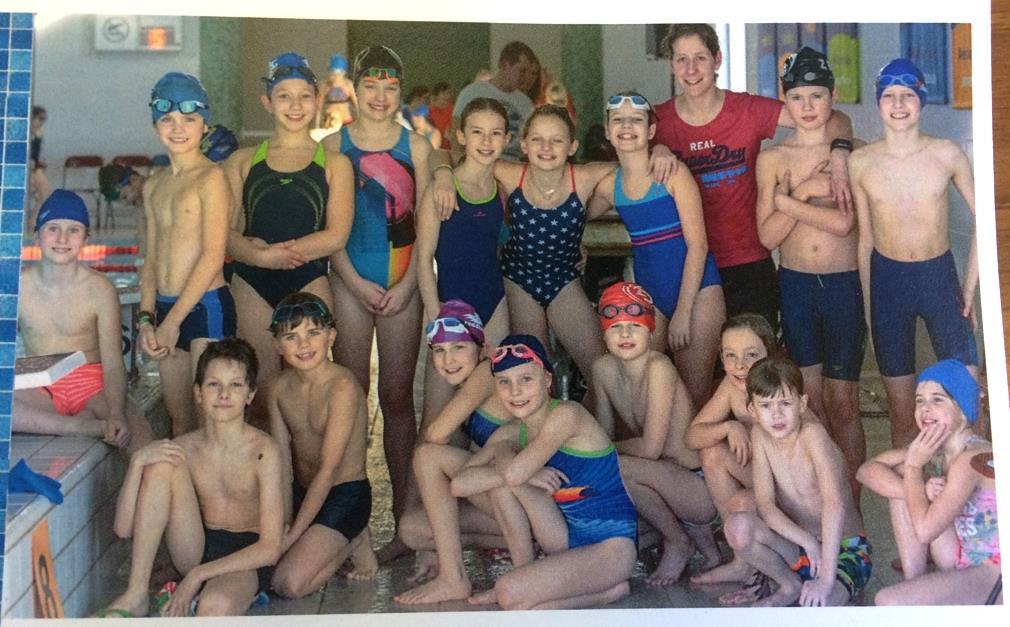 Onze school zwemt